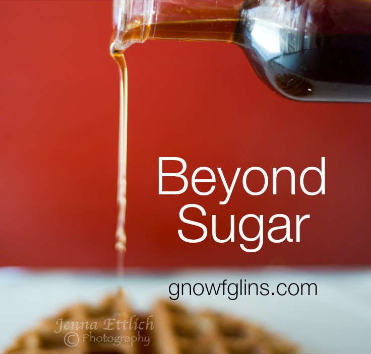 "The Beyond Sugar Challenge | With all the reading I've been doing lately about sugars -- natural included -- a nagging feeling settled over me that no matter what ""natural"" sugar I choose to eat myself and/or feed my family, we're eating too much. For the next 30 days, my family is completely eliminating all sweeteners (natural or refined). Please join us and spread the word! 