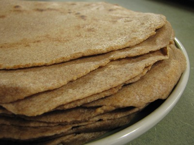 sprouted spelt tortillas
