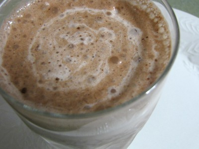 chocolate kefir smoothie