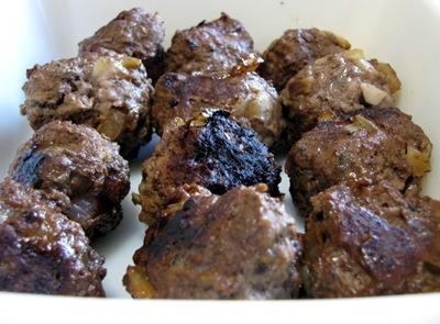 Arabic meatballs