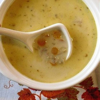 cream of turkey soup by Marg