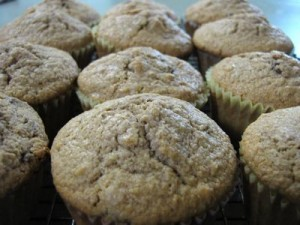 soaked muffins