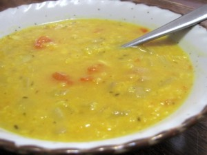 split-mung-bean-soup