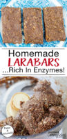 """Enzyme-Rich Homemade Larabars 