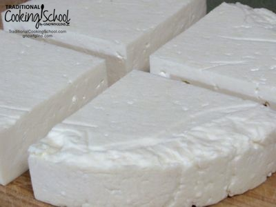 4 Easy Raw Cheese Recipes | Are you interested in raw cheese-making? These are the 4 recipes I make over and over again. We eat these cheeses daily because they offer all the benefits of raw cultured milk. None of these cheeses go over 93 degrees Fahrenheit; they can still be called raw with the enzymes and bacteria intact. | TraditionalCookingSchool.com