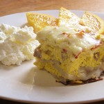 Sausage and Potato Baked Omelette