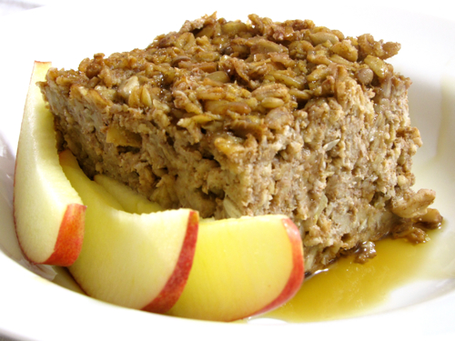 Apple-Cinnamon Baked Oatmeal (Soaked) — Traditional Cooking School ...