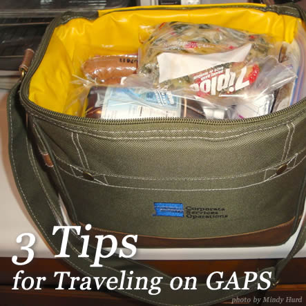 3 Tips for Traveling on GAPS | The thought of traveling while on the GAPS Diet can seem incredibly daunting. What food will be available? How will you make sure you're eating everything you need for your healing? How will you avoid foods that make you ill? Here's help! TraditionalCookingSchool.com