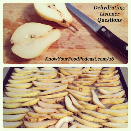 Dehydrating Listener Questions