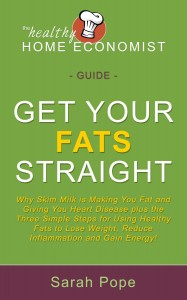 """""""Get Your Fats Straight"""" by Sarah Pope"""