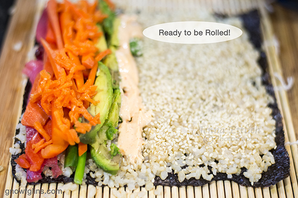 Real food Sushi... homemade and fun. Using fresh and flexible ingredients, homemade sushi is more affordable and more nutritious, plus the whole family can get involved! Join this real food family of 7 as they take on Sushi! | TraditionalCookingSchool.com