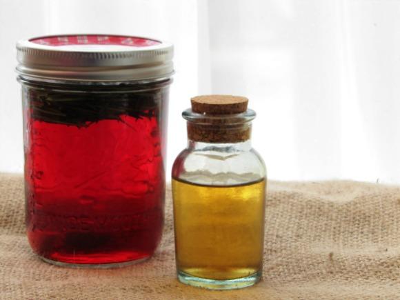 how to make herbal vinegar