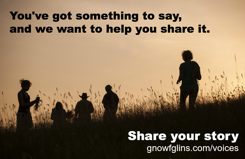 Voices -- Share your story!