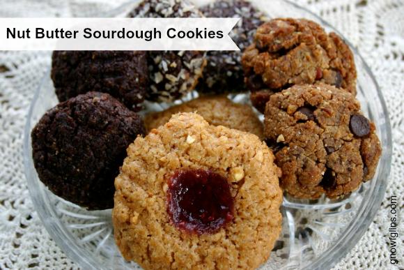 Nut Butter Sourdough Cookies