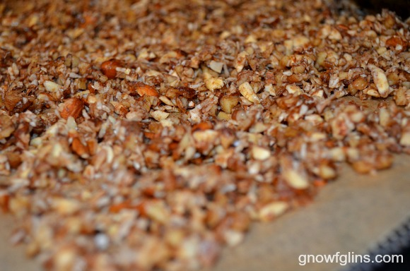 Do you like granola but find many store-bought (and even homemade) varieties include ingredients you'd rather avoid? If so, I think you'll enjoy this soaked maple-nut granola. It's grain-free, uses nourishing ingredients, is packed with nuts, and is bursting with flavor. | TraditionalCookingSchool.com