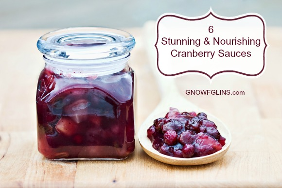 """6 Stunning and Nourishing Cranberry Sauces 