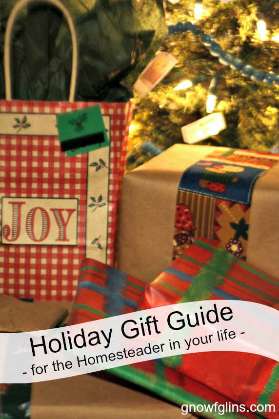 Holiday Gift Guide - Ideas for the Homesteader in your life. | TraditionalCookingSchool.com