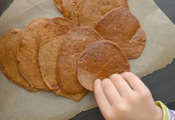 Allergy-Friendly Pumpkin Pancakes | Every Fall I start hunting for pumpkin recipes. After moving to the United States from Australia, I was amazed to find pumpkin so frequently used as a dessert food! Growing up we only ate it roasted or in soup. These pancakes are a tasty, gluten-free discovery. | TraditionalCookingSchool.com