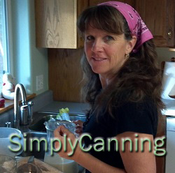"KYF #052: Simply Canning with Sharon Peterson |Sharon is a frugal mom and wife who says, ""food finds its way into jars in my kitchen""! I concur! We share a love of jars. n this podcast, we're talking about mostly about canning but we find our way into family work ethics, our mutual love of jars, and out-of-the-ordinary pantry setups.