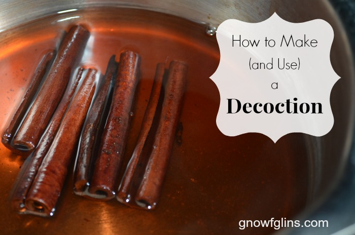 How to Make (and Use) an Herbal Decoction | An herbal infusion uses the leaves, stems, and flowers of a plant. An herbal decoction, although very similar to an infusion, is prepared from the roots, bark, and seeds, and you might call it a concentrated tea. I'm going to show you how easy it is to make and use an herbal decoction. | TraditionalCookingSchool.com