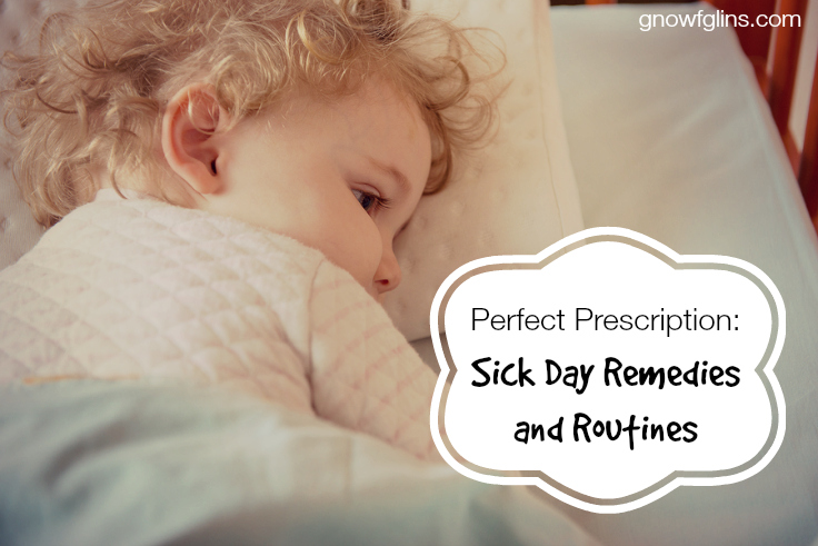 Perfect Prescription: Sick Day Remedies and Routines | Being ill forces the busy-ness of my life to stop, or at least, slow down for a while. Given the speed of life at which most of us live, slowing down is often the perfect prescription for recovery. Here are my family's five favorite ways to keep the pace peaceful while we recuperate. | TraditionalCookingSchool.com
