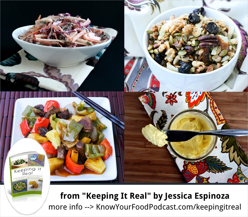 "KYF #068: Delicious Obsessions | She was cooking with her mom by age 3, and thus was born a delicious obsession! Meet Jessica Espinoza, the blogger behind Delicious Obsessions and the eBook ""Keeping It Real"". From cooking as a child, to coconut everything (she loves it), to healing with food from auto-immune thyroid disease... you'll be inspired by Jessica's story and today's podcast. Plus... the tip of the week! 