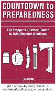 """KYF #074: Countdown to Preparedness 52-Week Plan 