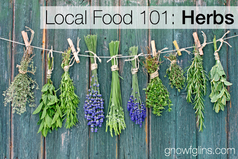 Local Food 101: Herbs | How can you know if a particular food source is a wise and healthy choice? You start by talking to the farmer who produces it, asking questions that pertain to the type of food you're buying. In this post, we'll discuss those lovely herbs. Use these questions when approaching your local farmer or source. | TraditionalCookingSchool.com