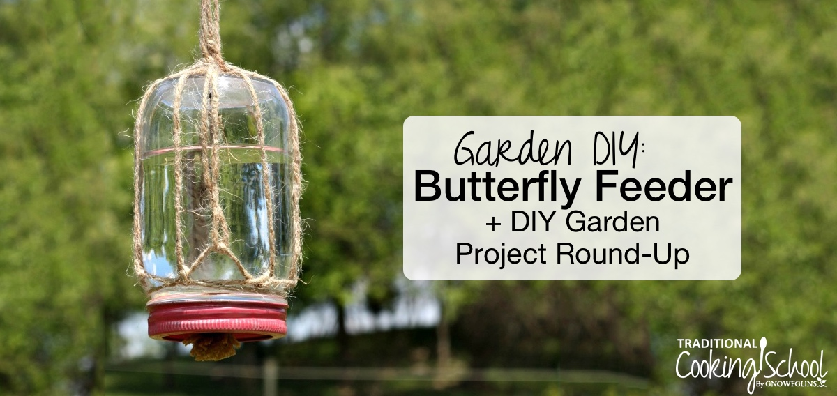 How To Make A DIY Butterfly Feeder For Your Garden