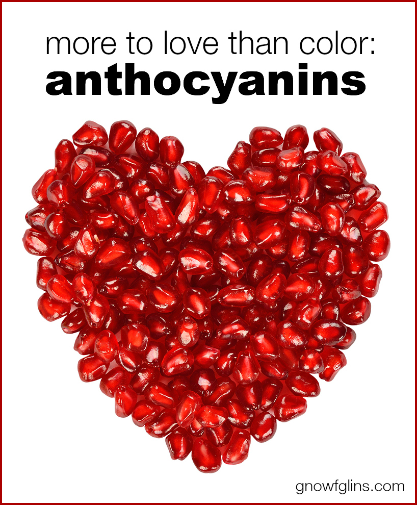 Anthocyanins: More to Love Than Color | Colors weren't just created to please our eyes. Take fruit for example -- red strawberries, dark red or purple raspberries, and the deep blue blueberries. Anthocyanins are responsible for these colors, and the purpose goes much deeper than mere (and miraculous) beauty. | TraditionalCookingSchool.com