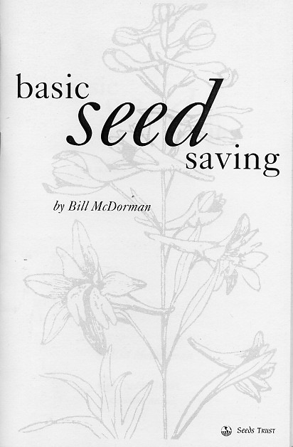 "His mission: to connect communities with the seeds that sustain them. Meet Bill McDorman, author of the free online book ""Basic Seed Saving"" and co-founder of the Rocky Mountain Seed Alliance. Get to know Bill and more about seed saving through the links and information below, and of course through this podcast. Plus... the tip of the week! 