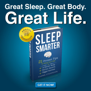 "Sleep ""smarter""? Yes. If you don't get good sleep, you suffer in many ways. Your health, your productivity, your outlook, your positivity, your relationships, even your body (how it looks). Good sleep is essential for a great life. Don't leave it up to chance. Using these tips from #1 health host on iTunes, Shawn Stevenson, you'll sleep smarter, better, and deeper! 