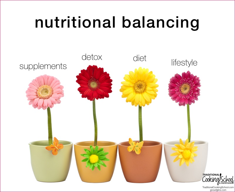 I want to introduce you to Nutritional Balancing (NB). If you experience unresolved or mysterious health issues that don't seem to improve with dietary changes alone, it may be time for something a little more intense. | TraditionalCookingSchool.com