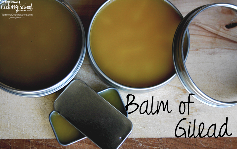 Balm of Gilead: The
