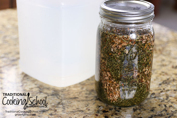 how to make alcohol free tincture