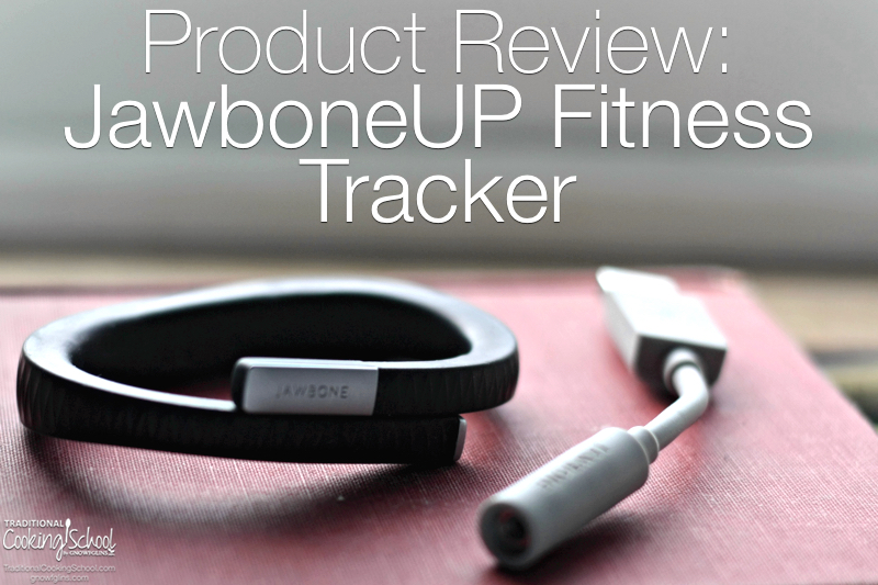 Can a fitness tracker help you reach your fitness goals and achieve a healthier life? Here's how a little black band on my left wrist has provided me with motivation, insights into my activities, tips for a healthier life, and encouragement when I reach my goals. | TraditionalCookingSchool.com