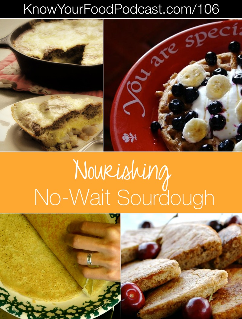 "No-Wait Sourdough | You'll go from starter to served in about a half hour with these 4 special ""no-wait"" (yet still nourishing) sourdough recipes. 