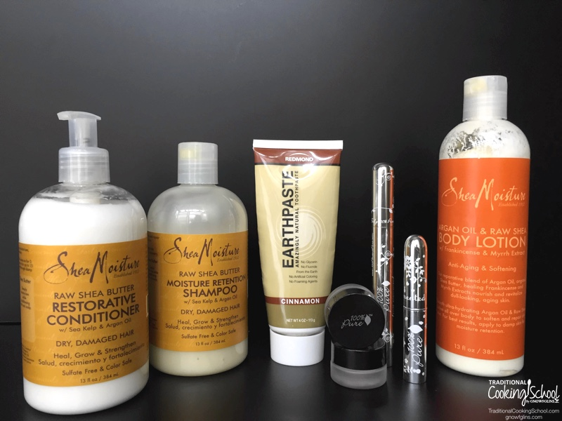 Natural Personal Care Products: Make Or Buy? | I used to think that in order to be a true believer in natural health and real food I had to make all of our natural personal care products. I've let go of that notion. I love experimenting with both homemade and store-bought personal care products. Here's what I make... and what I buy. What about you? | TraditionalCookingSchool.com