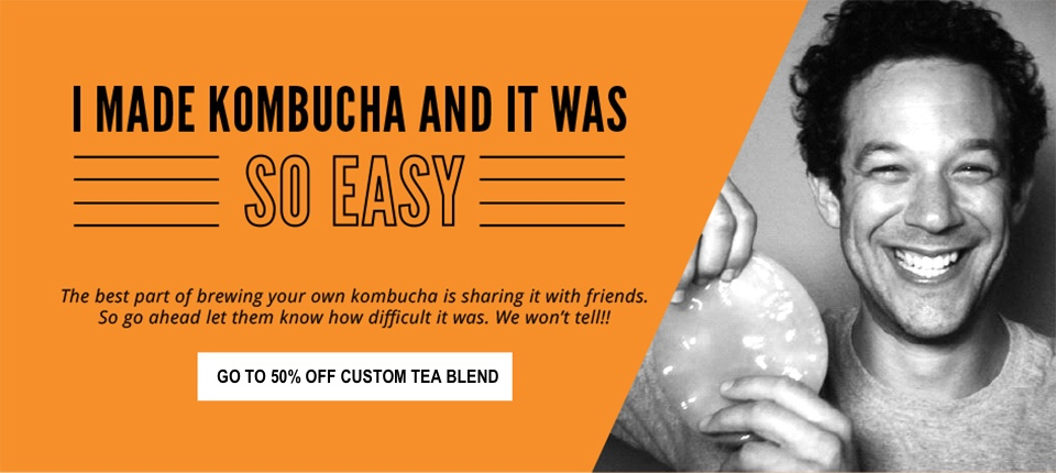 Get Kombucha! | Why in the world are people drinking (and loving) Kombucha? What does it do? And what's up with this thing called Continuous Brew? To answer those questions and more, you've got to meet Dave Lindenbaum, the man behind the #1 Kombucha site on the web, Get Kombucha. Plus, Dave wants to give you 50% off his custom tea -- link inside (first 500 orders only). | KnowYourFoodPodcast.com/119