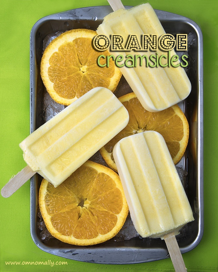 22 Delicious Healthy Dairy-Free Popsicle Recipes | When the summer sun beats down, a popsicle is a refreshing treat, and there's no longer any need to head to the local store! These 22 popsicles, fudgesicles, and creamsicles are all dairy-free, naturally-sweetened, and in most cases, can be whipped up in just a few minutes. | TraditionalCookingSchool.com