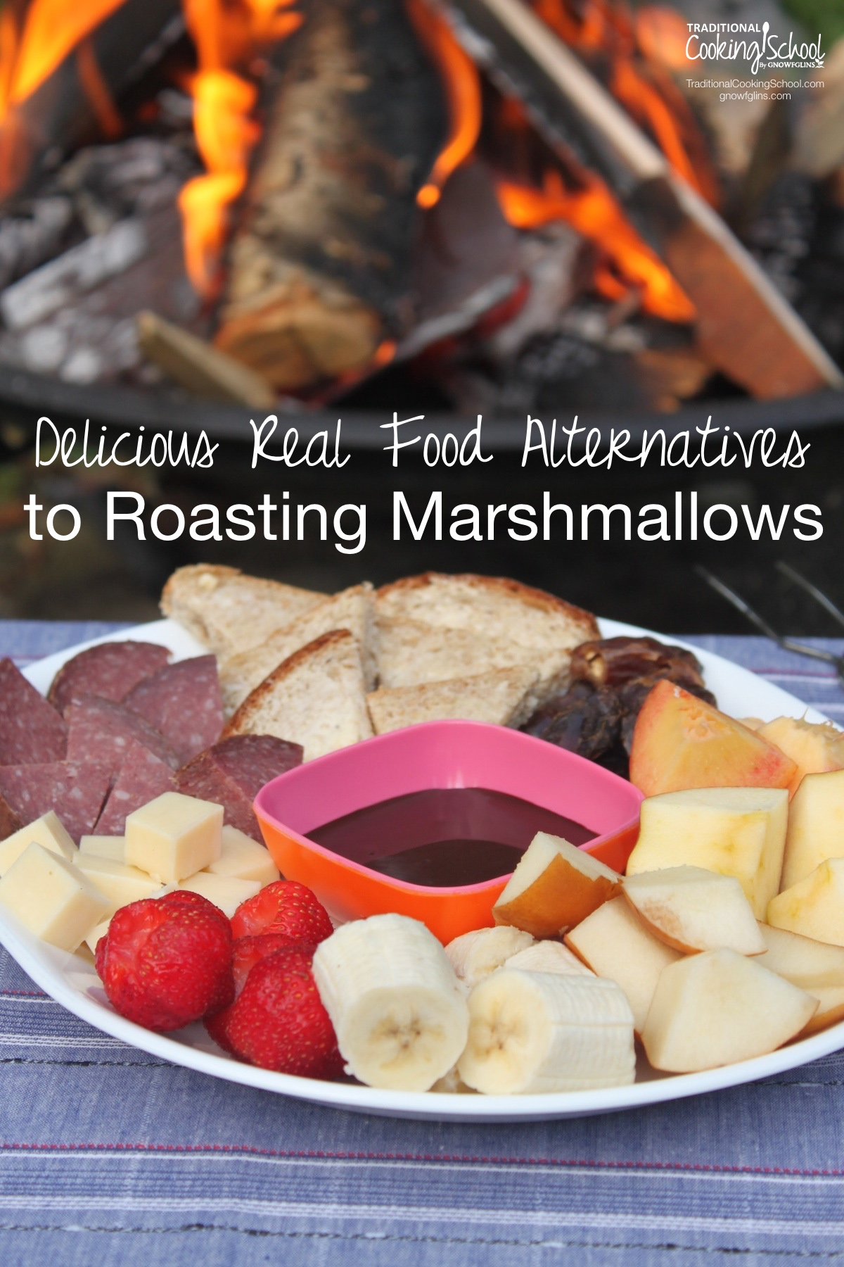 Delicious Real Food Alternatives To Roasting Marshmallows