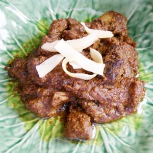 rendang meat