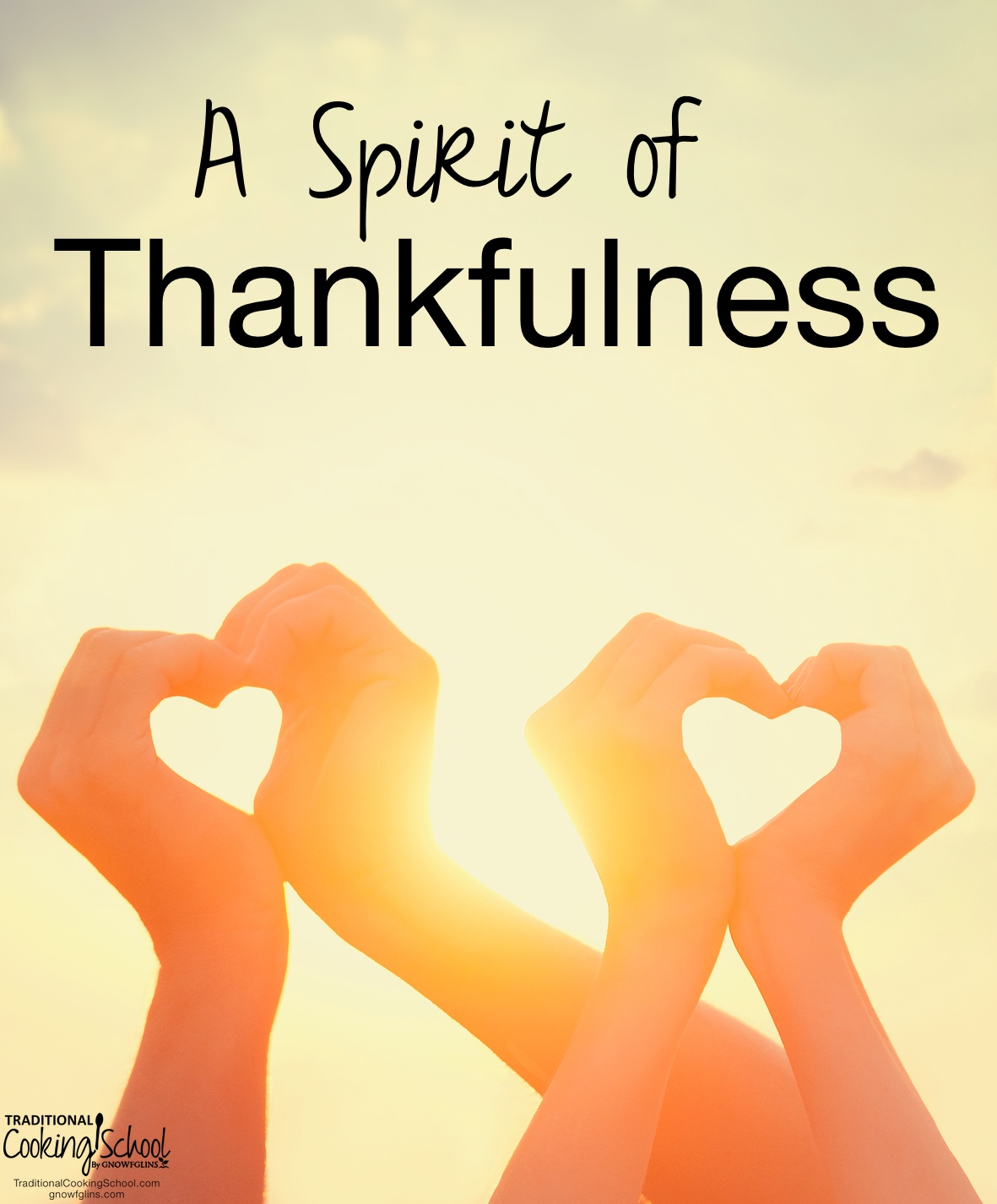 A Spirit of Thankfulness | How can I be more purposefully thankful, especially in this season of intentional gratitude? I'm so thankful for a quiet moment to reflect upon the day and the riches bestowed upon us. Although by American standards I would not consider us 'rich', I believe we are wealthy beyond belief. We have been given much, we work hard, and the Lord has never left us wanting in any way. | TraditionalCookingSchool.com