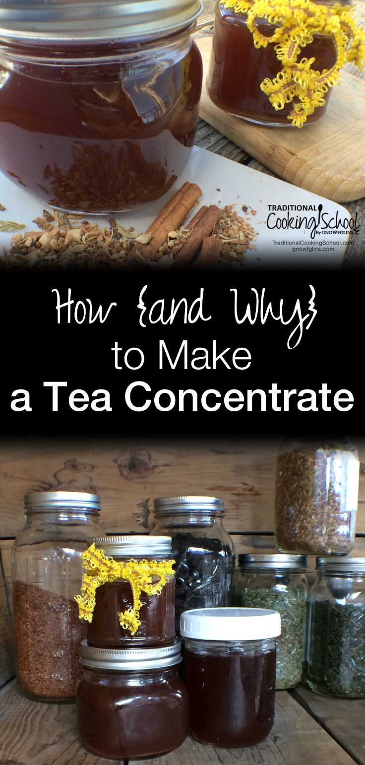 How to Make Hot Tea Concentrate