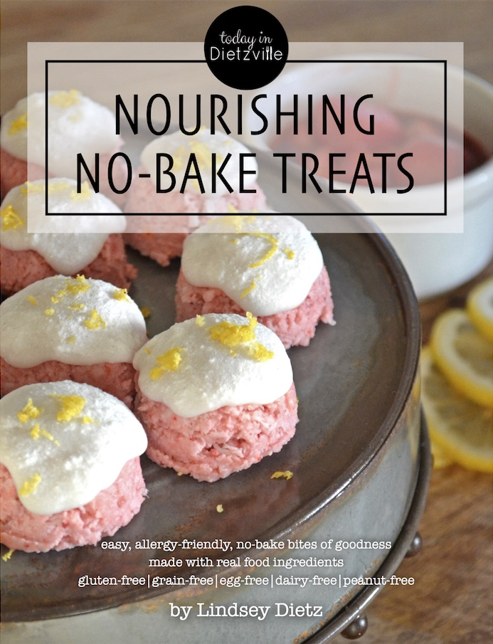 Nourishing No-Bake Treats | No bake? Check. So easy a kid could do it? Check. Healthy, real food ingredients? Check. Allergy-friendly? Check. Only one appliance? Check. Just a couple dirty dishes? Check. Delicious? That, too! | TradCookSchool.com/nobake