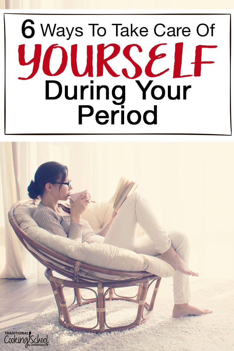 Don't fight your period, embrace it as your body's way of resetting each month. But don't feel like you have to settle with the aches and pains that can accompany your period...here are 6 hacks for period relief. Follow these simple tips and care for yourself during that time of the month. #period #hacks #tips #relief #facts #tradcookschool