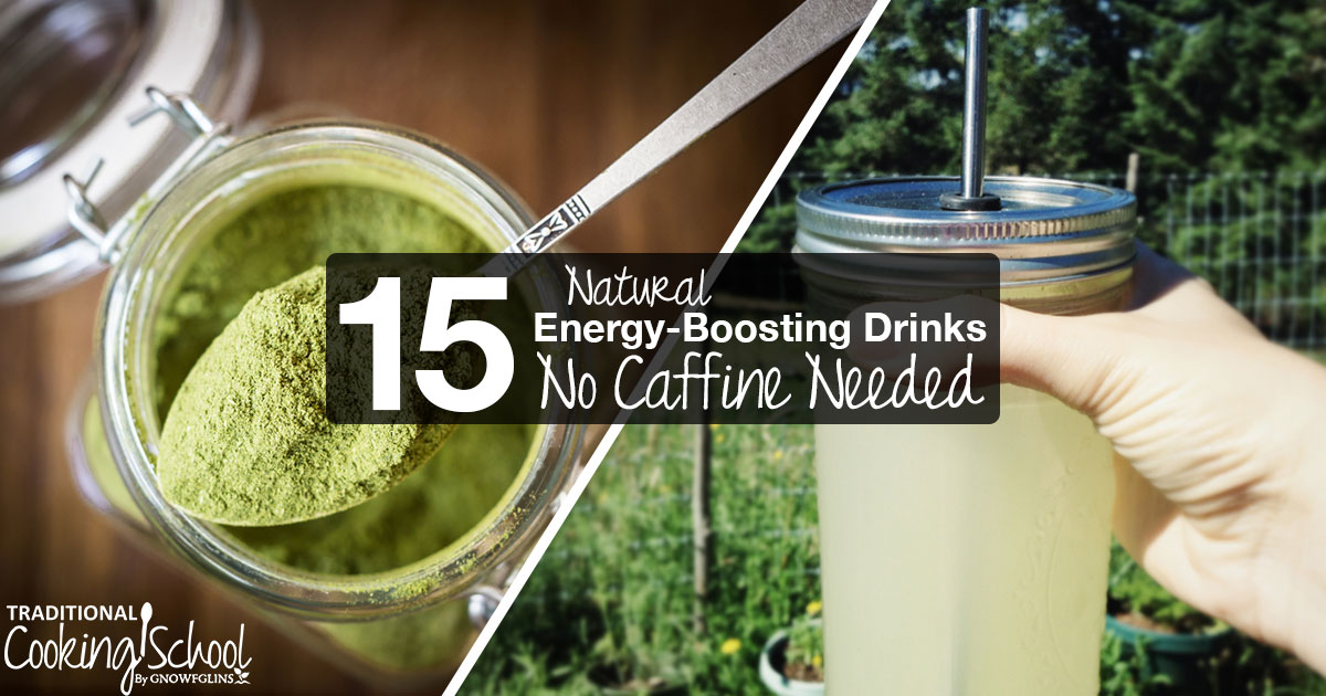 Natural Energy Boosting Foods And Drinks
