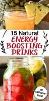 natural energy boosting drinks without caffeine