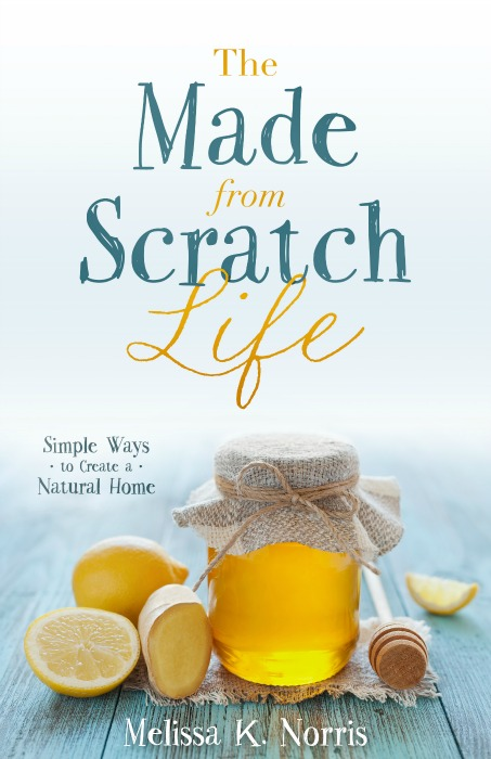 "The Made-From-Scratch Life | If you've ever grown or made something from scratch, you know there's a difference between what you make and what you can buy at a regular grocery store. Because everything else is just a poor substitute. We are celebrating the ""made-from-scratch"" life in today's podcast and featuring the brand-new book of the same name by my friend and fellow blogger, Melissa Norris. 