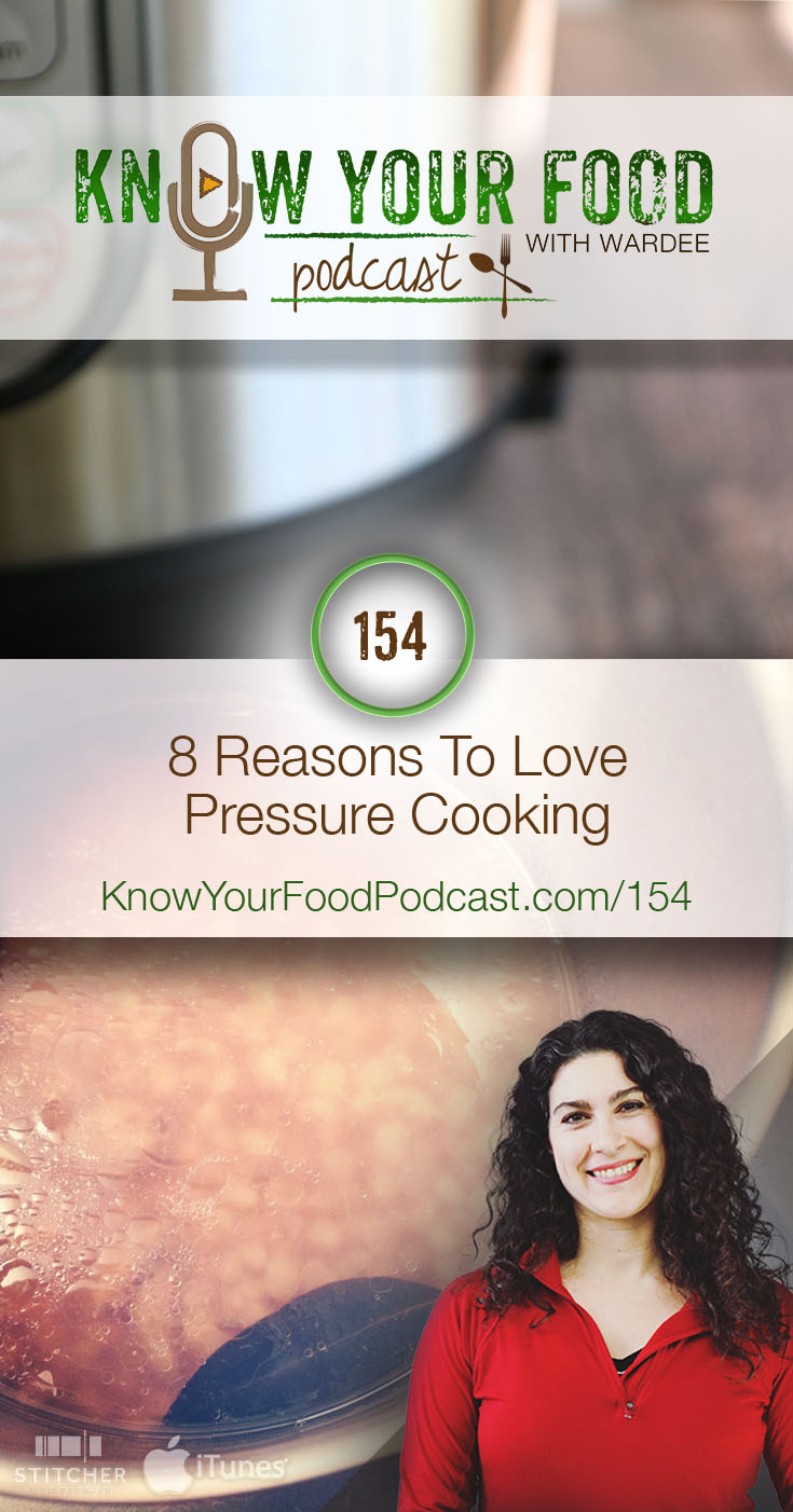 8 Reasons To Love Pressure Cooking | Why in the world is everyone so hot about pressure cooking? Okay, yes... with pressure cooking, the food gets hotter than boiling inside due to built-up pressure. But what's the big deal with that? From being healthy to tenderizing food like nothing else to being so fast... here are 8 reasons to LOVE pressure cooking! | KnowYourFoodPodcast.com